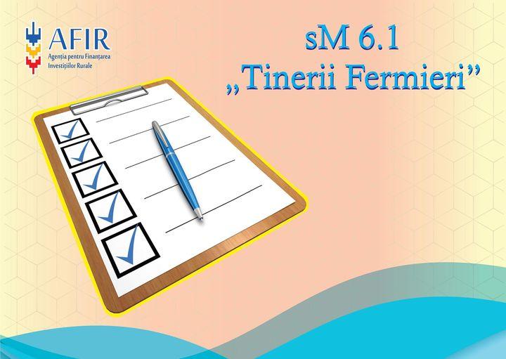 """AFIR: Se depun cererile pentru sM 6.1 """"Sprijin pentru instalarea tinerilor fermieri"""" pana pe 15 octombrie!"""