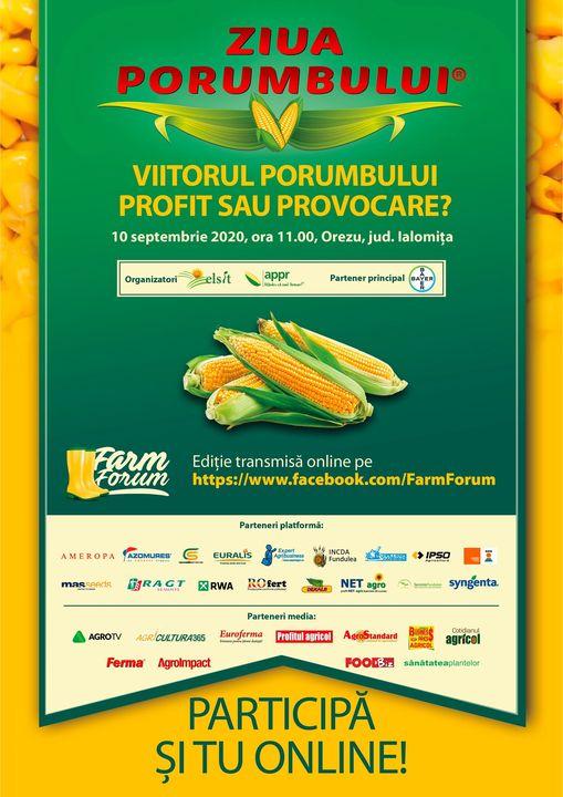 Ziua Porumbului 2020 la Elsit! Productie sub 2 to/ha pentru primele suprafete recoltate in ferma lui Nicolae Sitaru