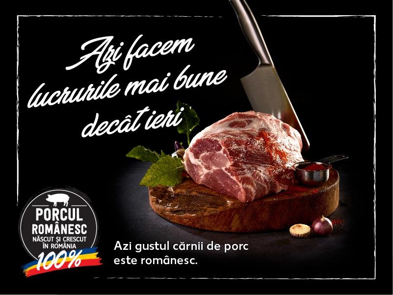 """Premiera in retail: Kaufland lanseaza Programul ,,Porc nascut si crescut in Romania"""""""