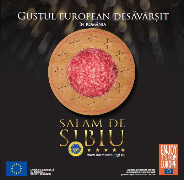 Productia de Salam de Sibiu se mentine constanta, dar creste consumul de salam feliat!