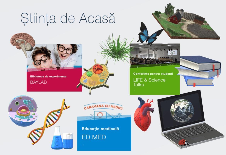 Baylab aduce stiinta in casele copiilor, ca parte a proiectului Stiinta de Acasa!