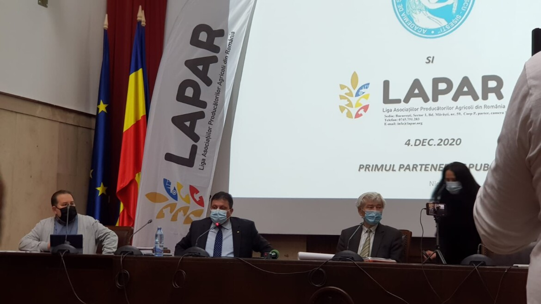 LAPAR anunta un Centru de cercetare aplicata pentru agricultura, cu finantare privata!