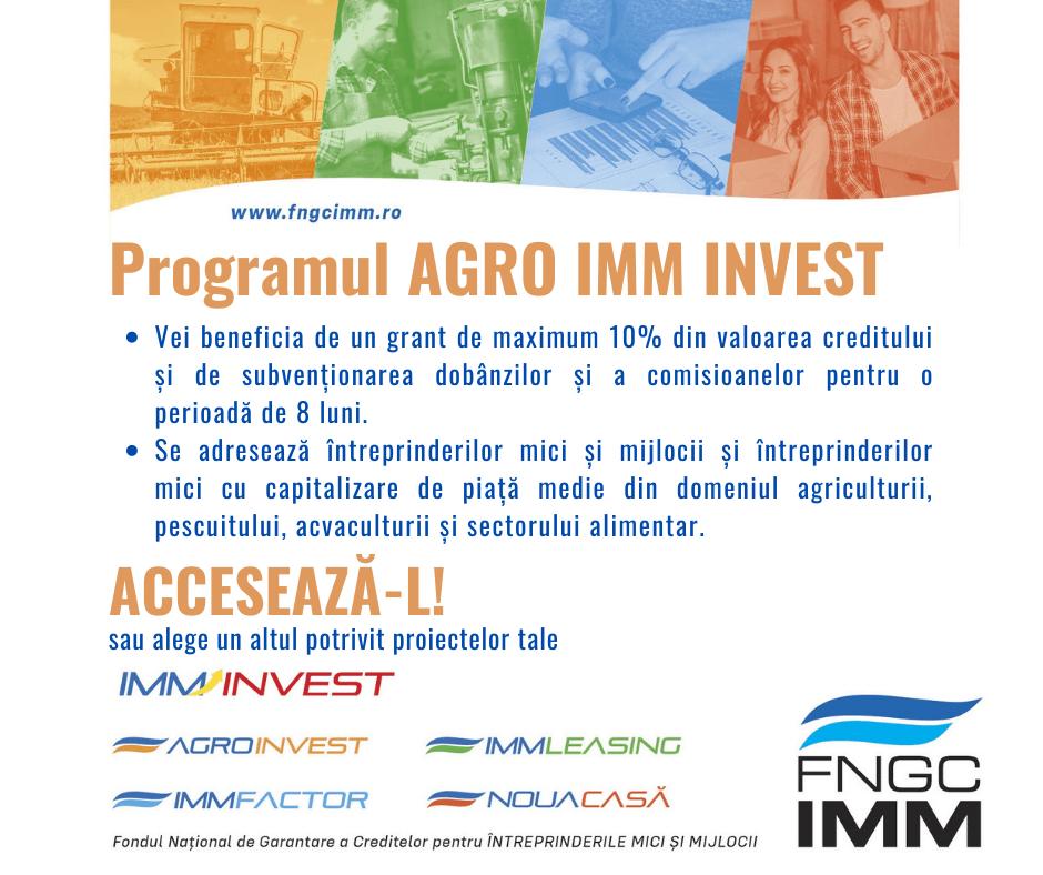 Start AGRO IMM INVEST!