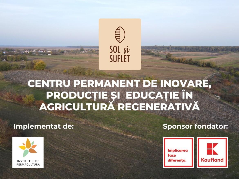 Prima ferma regenerativa din Romania la Vladeni, Dambovita