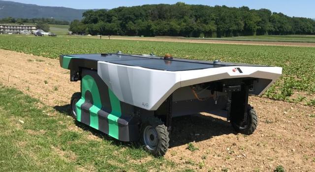 Robotul AVO, solutia ecoRobotix la buruieni
