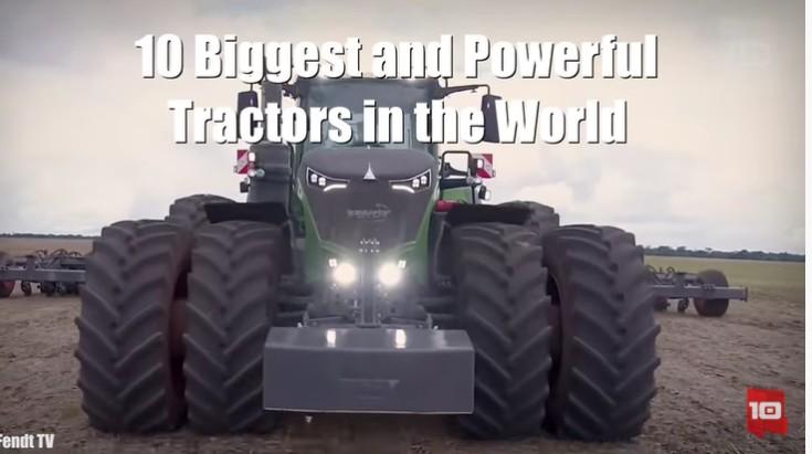 Top 10 cele mai puternice tractoare din lume