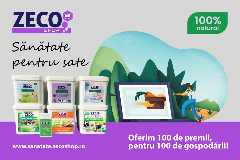 """Zeolites Group lanseaza campania """"Sanatate pentru Sate"""". Premii pentru 100 de gospodarii!"""