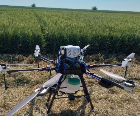 Drona agricola de mari dimensiuni, prezentata la Ziua Graului Baragan