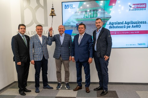 Agroland Agribusiness s-a listat pe BVB