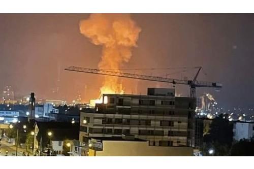 Explozie, urmata de incendiu la combinatul chimic Azomures. Ce spun reprezentantii companiei