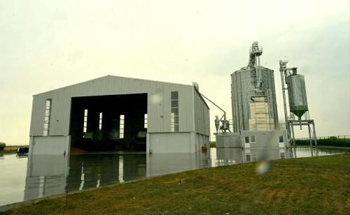 Investitie de peste 1,5 milioane de euro intr-un siloz de cereale la Agrobujora (Timis)