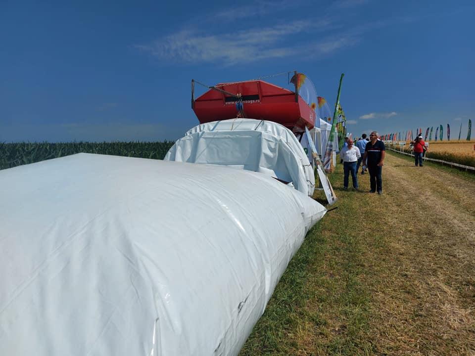 Bilant Grain Bags la sase ani de prezenta pe piata din Romania. Peste un milion de tone de cereale stocate in silobag-uri