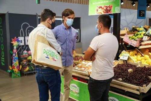 """Fructe si legume romanesti de la Profi sub marca """"Proaspete de la noi"""""""
