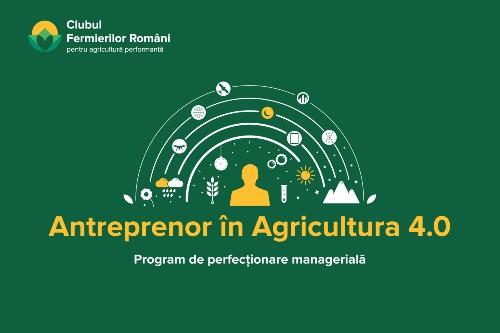 """""""Antreprenor in Agricultura 4.0"""" – curs pentru fermieri lansat de CFRO. Inscrierea  se face pana pe 19 septembrie"""