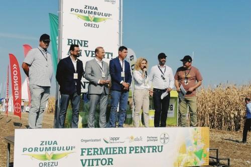2.000 fermieri, prezenti la Ziua Porumbului de la Orezu. 2021 – un an cu recolte bune