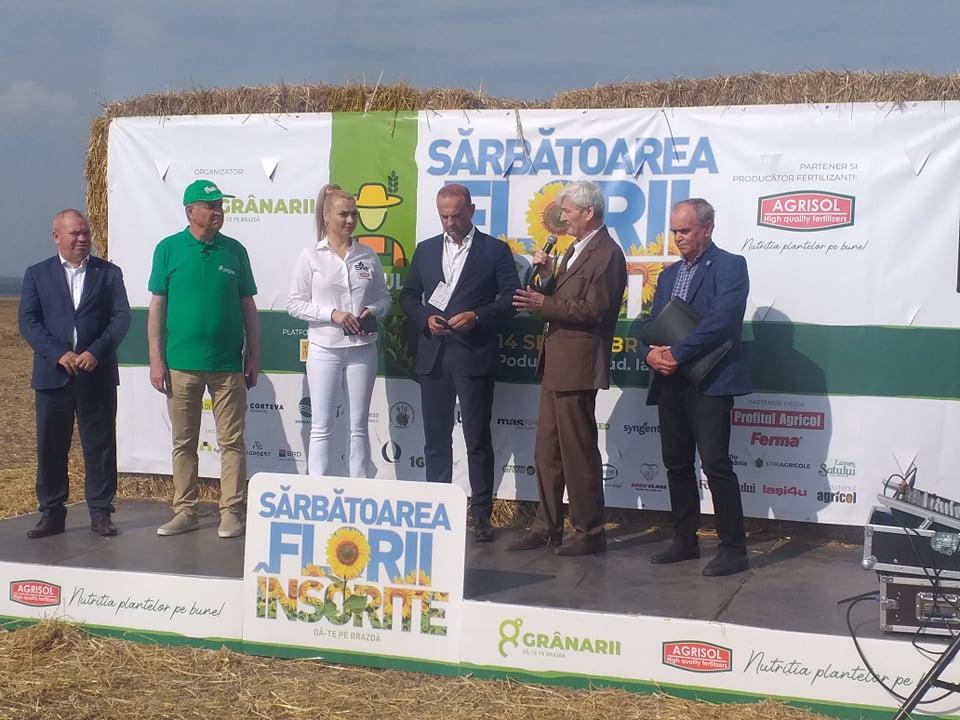 """Premiera. """"Sarbatoarea Florii Insorite"""", cel mai mare eveniment agricol din zona Moldovei"""