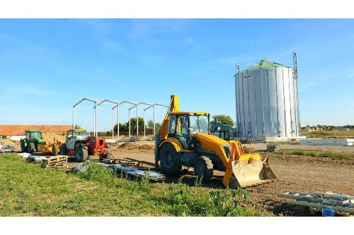 Investiție de doua mil. euro la Agrivinia 2010 in spatii de depozitare cereale